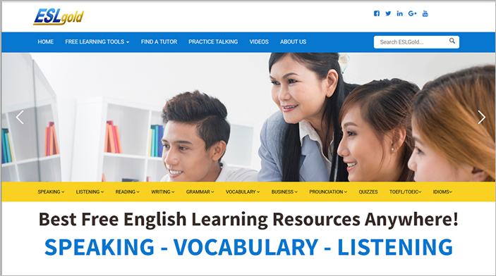 Free English Study, speaking, listening, grammar lessons